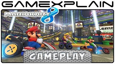 Mario Kart 8 Mario Kart Stadium Gameplay w Direct Audio (NEW Track)