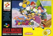 Pop'n TwinBee Box Art EU