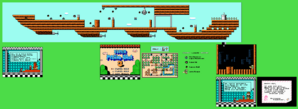 SMB3 World 1-Airship