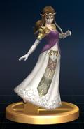 Zelda - Brawl Trophy