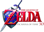 Ocarina of Time 3D logo