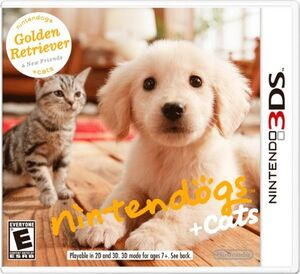 Nintendogs Cats cover 1