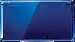 Cobalt Blue 3DS closed