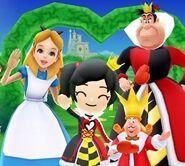 DMW2 - Alice in Wonderland's World