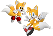 Tails Modern and Classic (Sonic Generations)