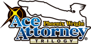 Phoenix Wright Ace Attorney Trilogy logo