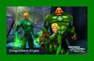 Green Lantern 3DS screenshot 3