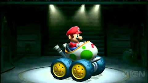 Mario Kart 7 - 3DS Conference Gameplay