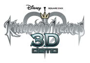 Kingdom Hearts 3D Demo logo