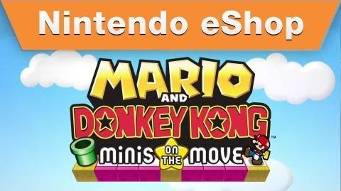 Mario and Donkey Kong Minis on the Move - Nintendo Direct 2.14 Trailer