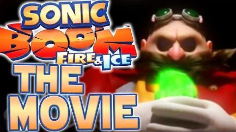 Sonic Boom Fire & Ice The Movie (All Cutscenes Movie)