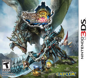 Monster Hunter 3 Ultimate box art