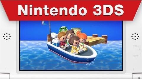 Animal Crossing New Leaf - Island commercial