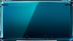 Aqua Blue 3DS closed