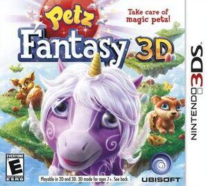 Petz Fantasy 3D box art