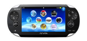 PlayStation Vita handheld