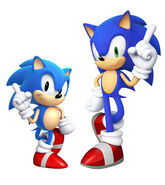 Sonic Modern & Classic (Sonic Generations)
