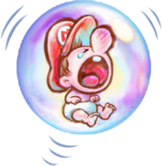 Yoshi's New Island - Baby Mario