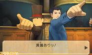 Professor Layton vs Ace Attorney screenshot 9