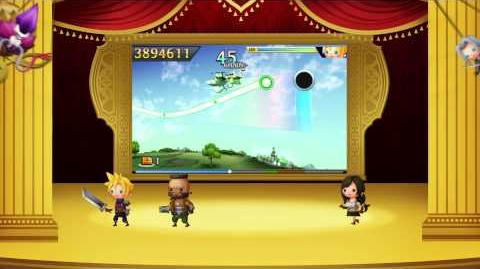 "Theatrhythm Final Fantasy Curtain Call - ""Legacy of Music Final Fantasy VII"" trailer"