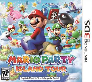 Mario Party Island Tour box art