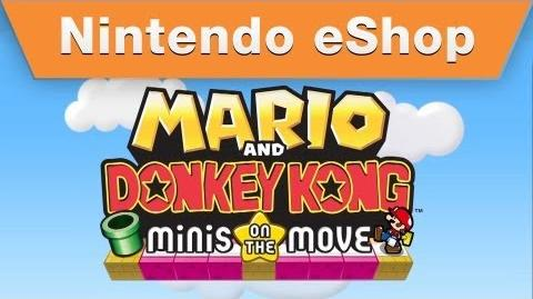 Mario and Donkey Kong Minis on the Move - Mario's Main Event Trailer