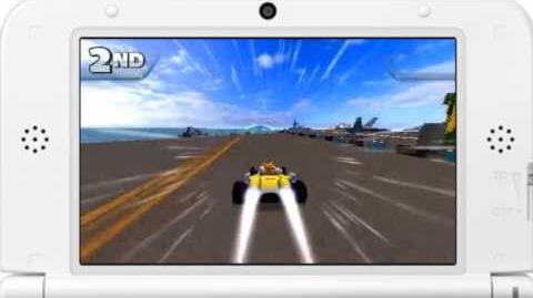 Sonic & All-Stars Racing Transformed - Carrier Zone Gameplay