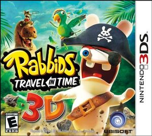 Rabbids Travel in Time cover
