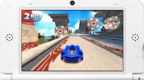 Sonic & All-Stars Racing Transformed - Ocean View Gameplay
