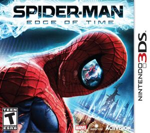 Spider-Man Edge of Time box art