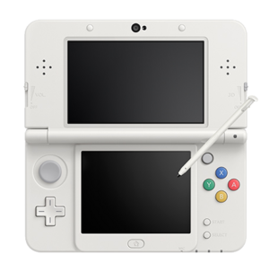 New Nintendo 3DS white