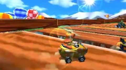 Mario Kart 7 - Mushroom Cup Gameplay