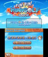 Fun! Fun! Minigolf TOUCH! screenshot 2