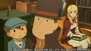 Professor Layton vs Ace Attorney screenshot 28