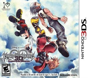Kingdom Hearts 3D box art