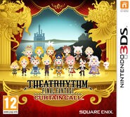 Theatrhythm Final Fantasy Curtain Call box art