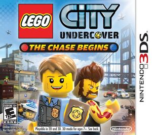 Lego City Undercover The Chase Begins box art