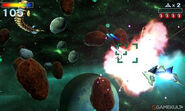 Star Fox 64 3D screenshot 5