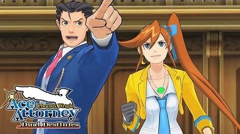Phoenix Wright Ace Attorney - Dual Destinies - Launch trailer