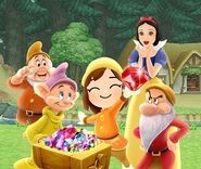 DMW2 - Snow White and the Seven Dwarfs' World