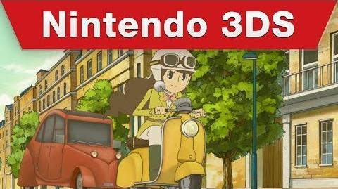 """Professor Layton and the Azran Legacy - Nintendo Direct 2.13.14 """"Emmy's Story"""" trailer"""