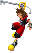 Sora Battle (Kingdom Hearts 3D)