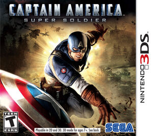 Captain America Super Soldier box art