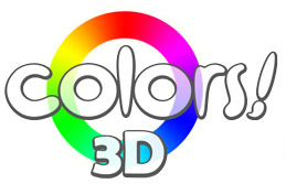 Colors! 3D logo