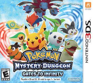 Pokemon Mystery Dungeon box art