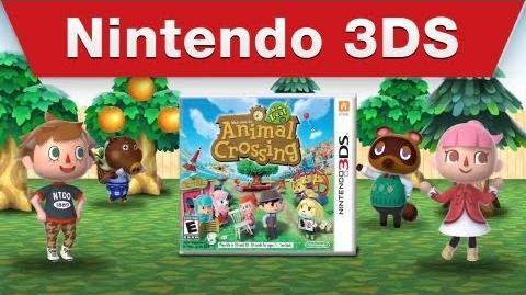 Animal Crossing New Leaf - Dream House commercial