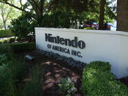 Nintendo of America entrance