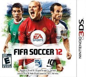FIFA Soccer 12 box art