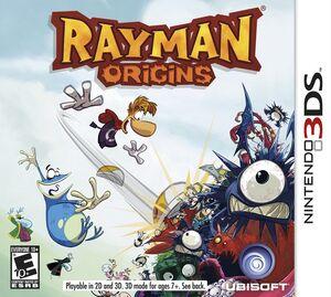 Rayman Origins box art