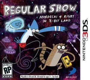 Regular Show box art